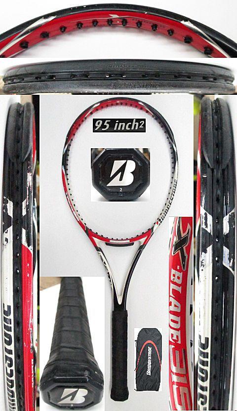 【中古 テニスラケット】BS0172 ブリヂストン Xブレード315