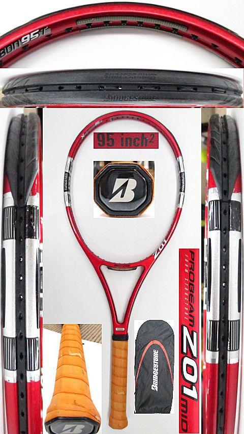 【中古 テニスラケット】BS0173 ブリヂストン プロビームZ01 MID