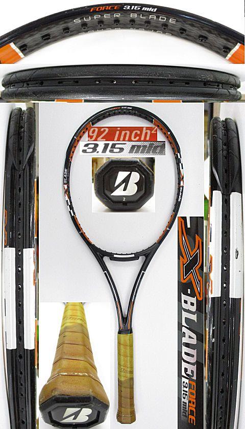 【中古 テニスラケット】BS0176 ブリヂストン Xブレードフォース3.15MID