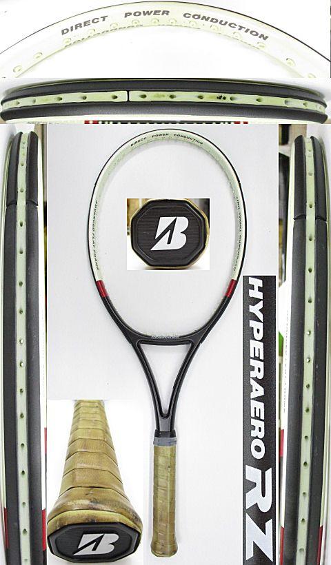 【中古 テニスラケット】BS0177 ブリヂストン ハイパーアエロRZ