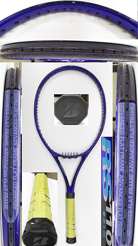 【中古 テニスラケット】BS0179 ブリヂストン RS110スピン