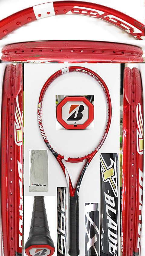 【中古 テニスラケット】BS0181 ブリヂストン XブレードVX295