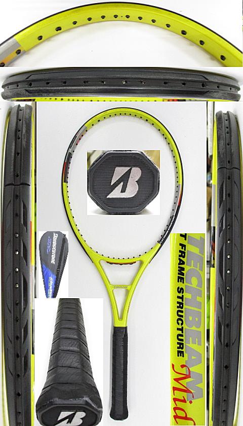 【中古 テニスラケット】BS0184 ブリヂストン テックビームMID