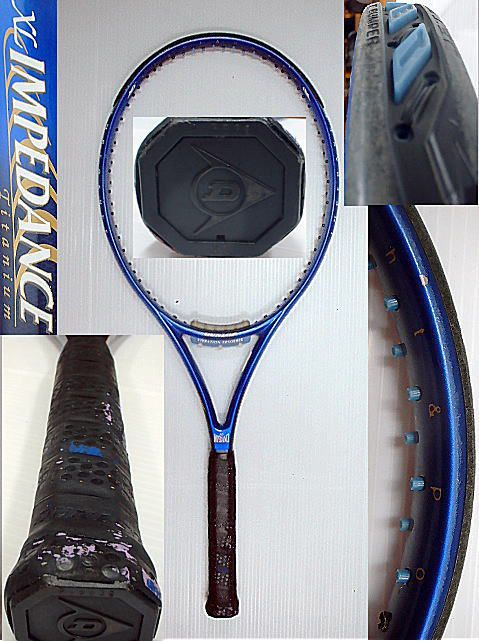 【中古テニスラケット】ダンロップ XLインピーダンス チタニュウム XL IMPEDANCE TITANIUM