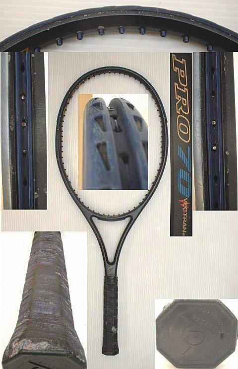 【中古テニスラケット】ダンロップ プロ70 PRO 70