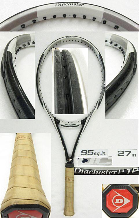 【中古テニスラケット】ダンロップ ダイアクラスター1.0TP Diacluster 1.0 TP