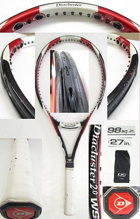 【中古テニスラケット】ダンロップ ダイアクラスター2.0WS DUNLOP Diacluster 2.0 WS
