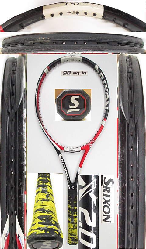 【中古 テニスラケット】D0502 スリクソン X2.0