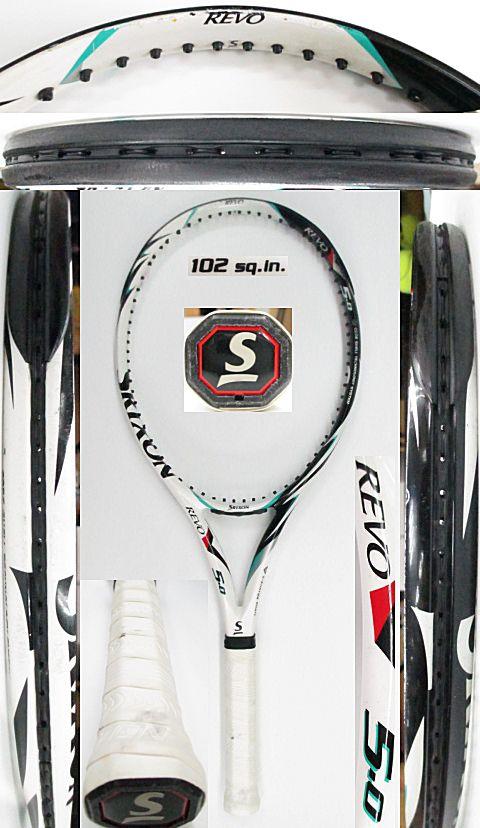 【中古 テニスラケット】D0539 スリクソン REVO5.0