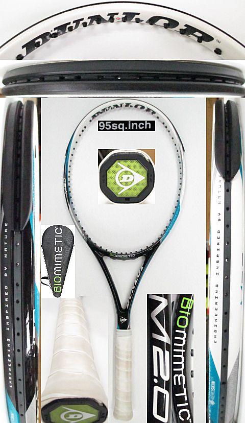 【中古 テニスラケット】D0553 ダンロップ バイオミメティックM2.0
