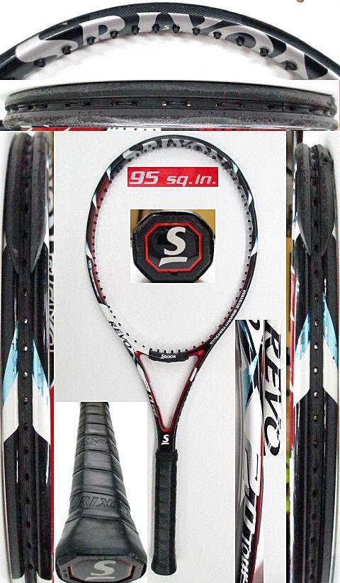 【中古 テニスラケット】D0561 スリクソン REVO X2.0ツアー