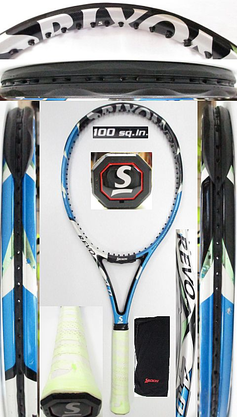 【中古 テニスラケット】D0568 スリクソン REVO X4.0