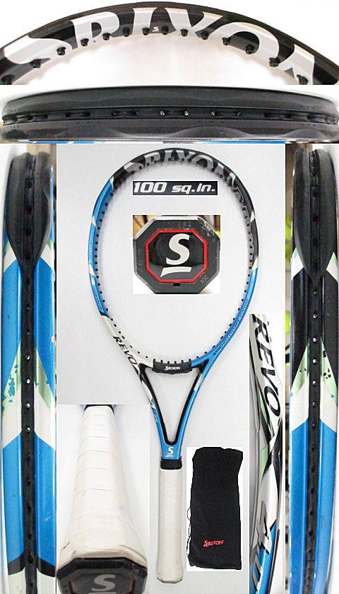 【中古 テニスラケット】D0570 スリクソン REVO X4.0
