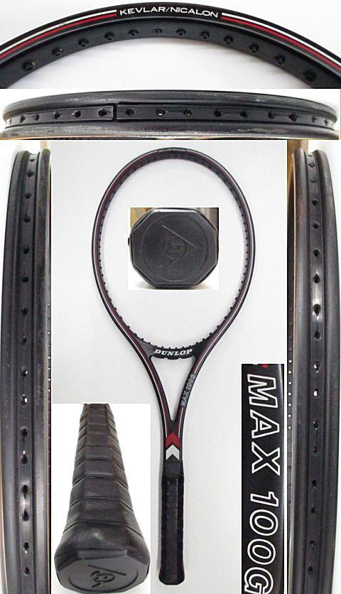 【中古 テニスラケット】D0578 ダンロップ MAX100G
