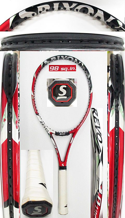 【中古 テニスラケット】D0584 スリクソン REVO X2.0ライト