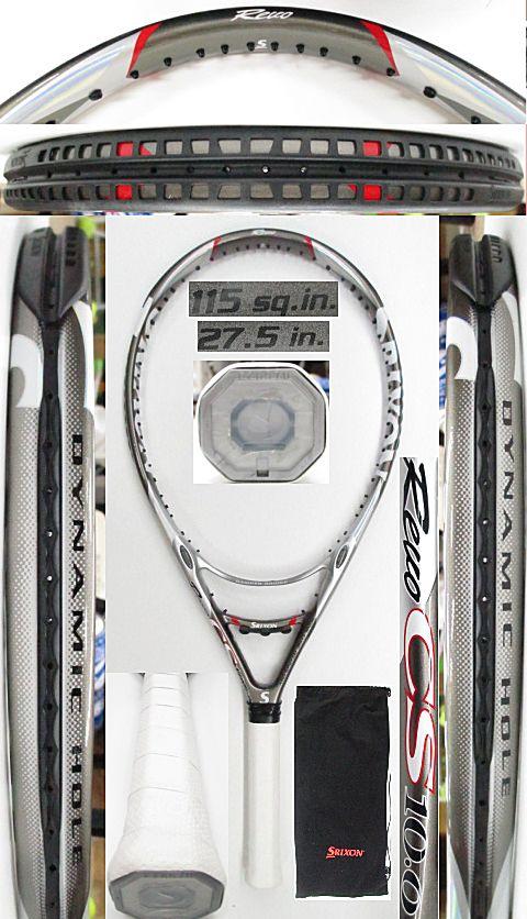 【中古 テニスラケット】D0586 スリクソン REVO CS10.0