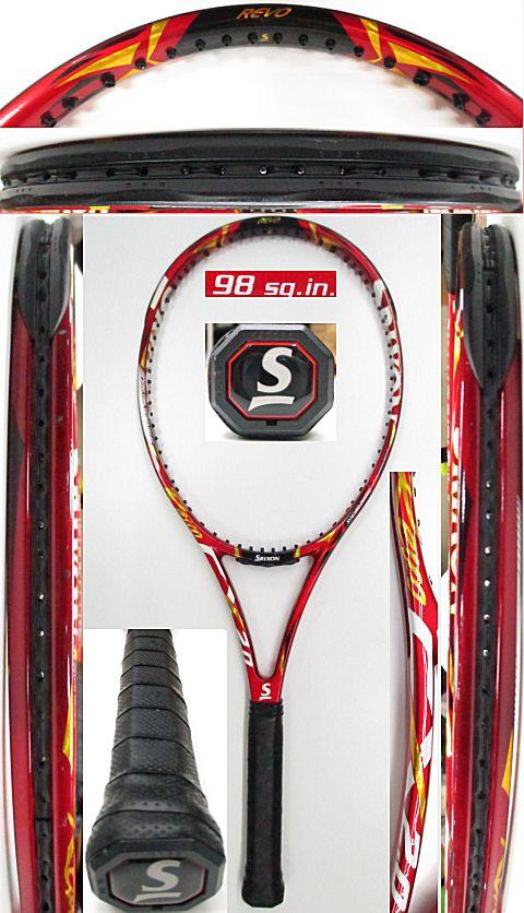 【中古 テニスラケット】D0590 スリクソン REVO CX2.0