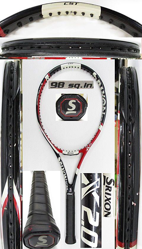 【中古 テニスラケット】D0591 スリクソン X2.0