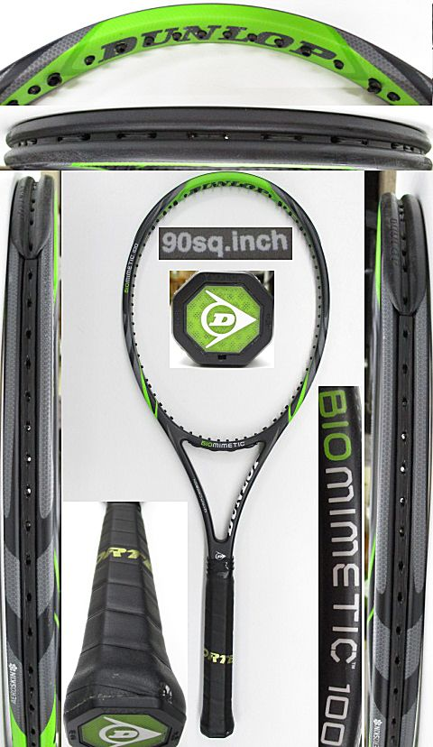 【中古 テニスラケット】D0593 ダンロップ バイオミメティック100