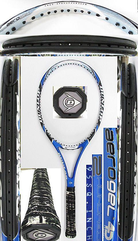 【中古 テニスラケット】D0596 ダンロップ エアロジェル4D/200