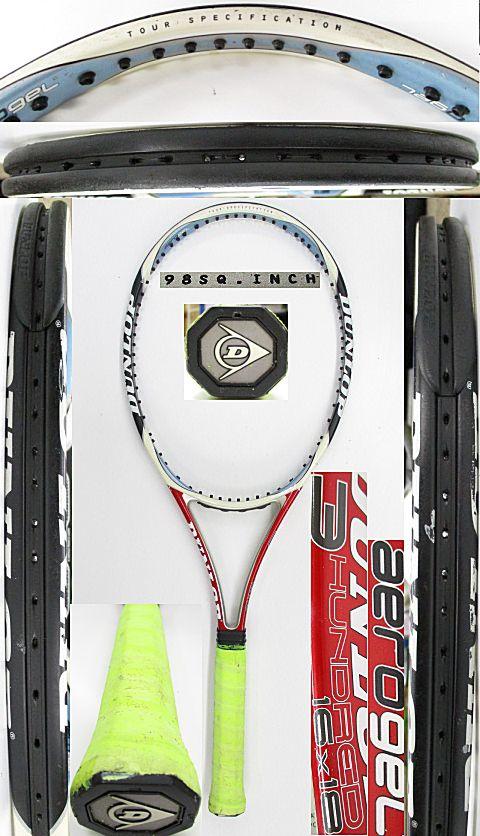 【中古 テニスラケット】D0597 ダンロップ エアロジェル/300