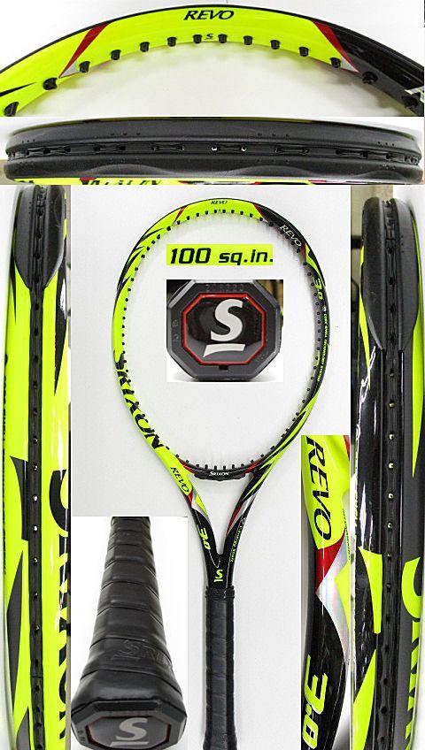 【中古 テニスラケット】D0599 スリクソン REVO V3.0(2012年)