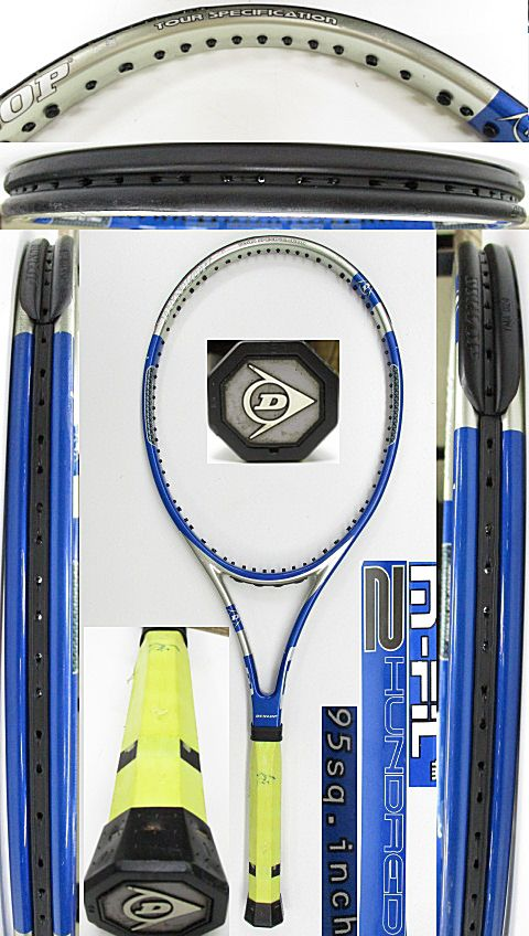 【中古 テニスラケット】D0603 ダンロップ M-FIL200
