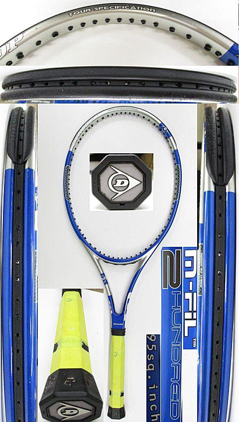 【中古 テニスラケット】D0604 ダンロップ M-FIL200
