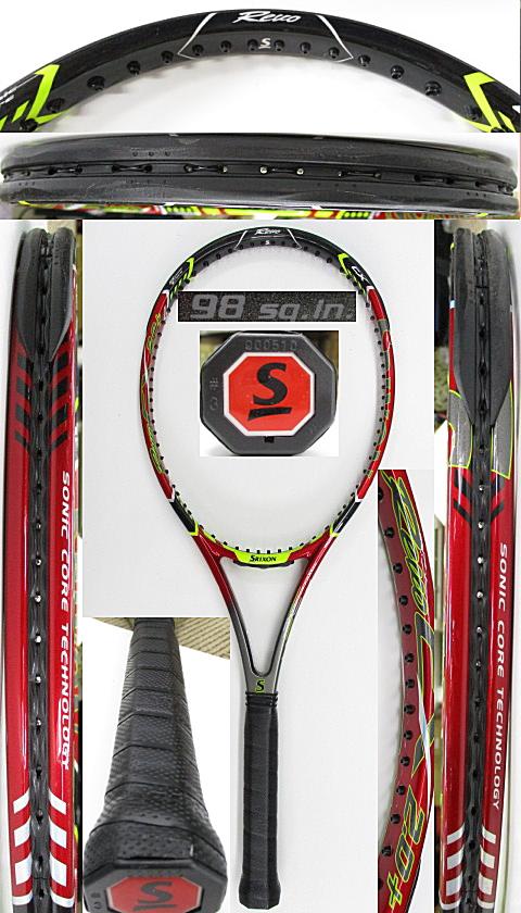 【中古 テニスラケット】D0612 スリクソン REVO CX2.0+(2017年)