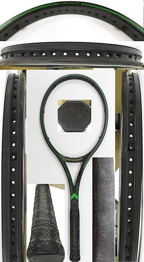 【中古 テニスラケット】D0613 ダンロップ MAX200G
