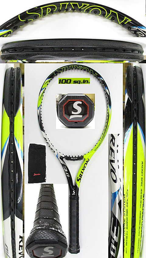 【中古 テニスラケット】D0615 スリクソン REVO V3.0(2014年モデル)