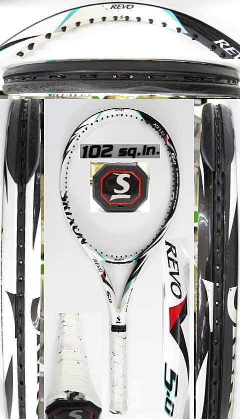 【中古 テニスラケット】D0619 スリクソン REVO V5.0