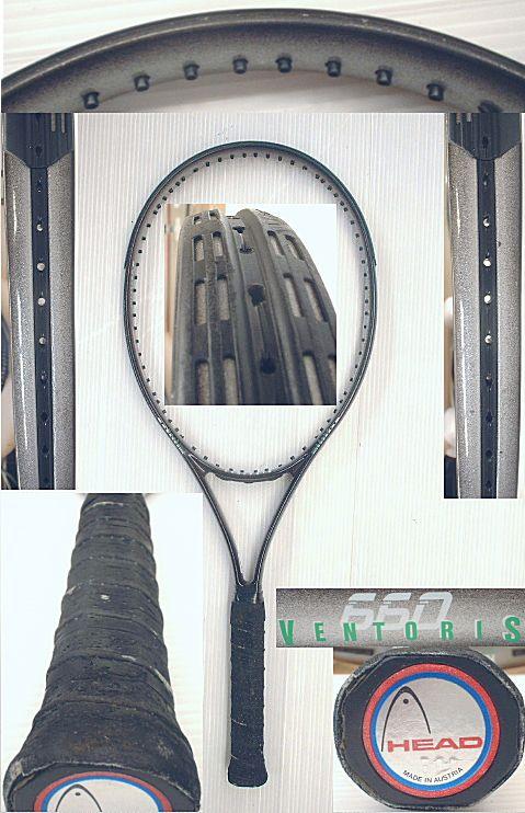 【中古テニスラケット】ヘッド VENTORIS 660