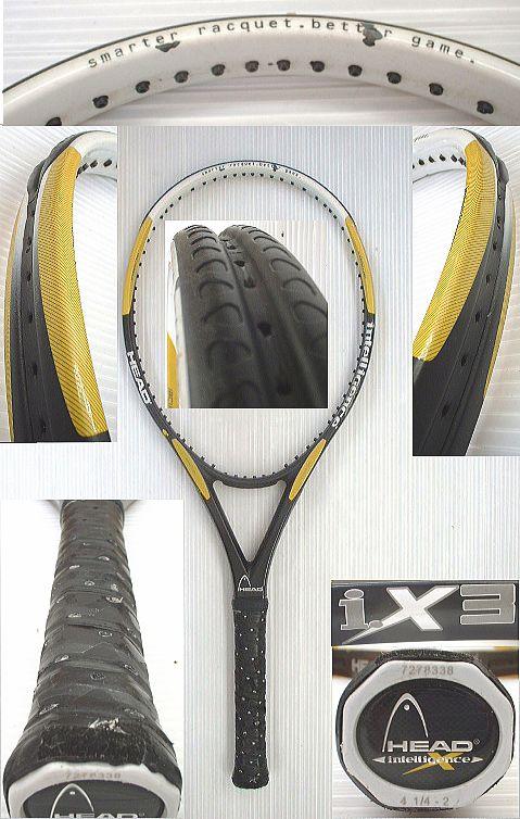 【中古テニスラケット】ヘッド  i.X3 i.X3