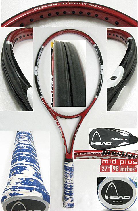 【中古テニスラケット】ヘッド フレックスポイント プレステージ ミッドプラス FLEXPOINT PRESTIGE MIDPLUS