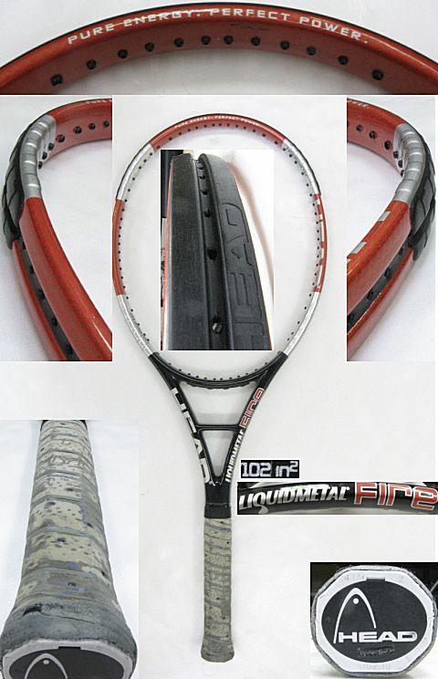 【中古テニスラケット】ヘッド リキッドメタル ファイア LIQUIDMETAL FIRE