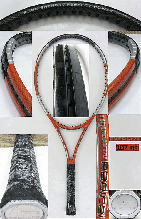 【中古テニスラケット】ヘッド リキッドメタル ラジカルOS LIQUIDMETAL RADICAL OS