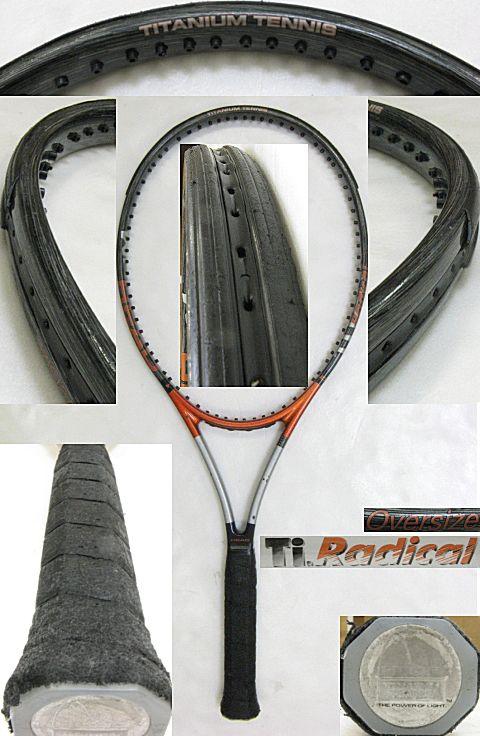 【中古テニスラケット】ヘッド Tiラジカル オーバーサイズ Ti RADICAL OVERSIZE