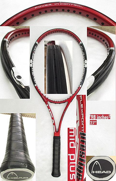 【中古 テニスラケット】H0417 ヘッド フレックスポイント プレステージMP