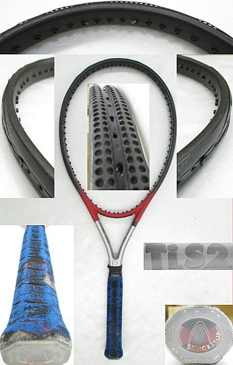 【中古 テニスラケット】H0420 ヘッド Ti.S2