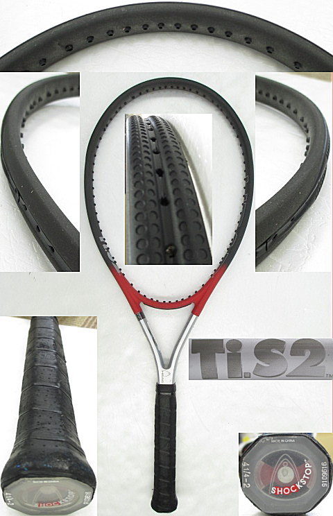 【中古 テニスラケット】H0421 ヘッド Ti.S2
