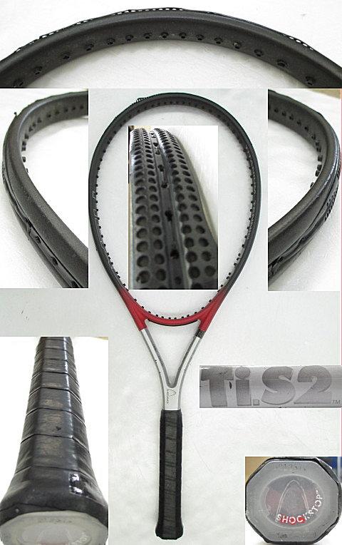 【中古 テニスラケット】H0422 ヘッド Ti.S2