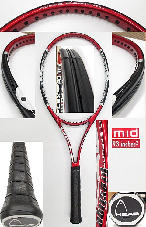 【中古 テニスラケット】H0436 ヘッド フレックスポイント プレステージMID