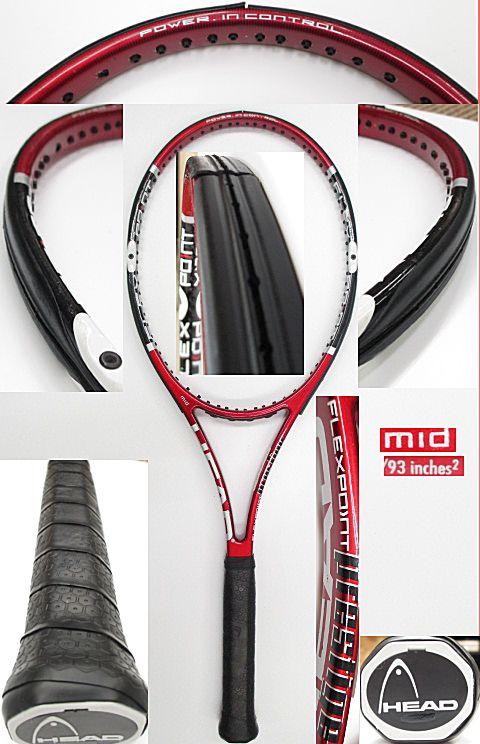 【中古 テニスラケット】H0437 ヘッド フレックスポイント プレステージMID