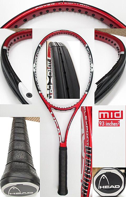【中古 テニスラケット】H0438 ヘッド フレックスポイント プレステージMID