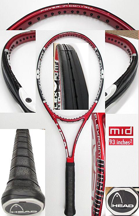 【中古 テニスラケット】H0439 ヘッド フレックスポイント プレステージMID