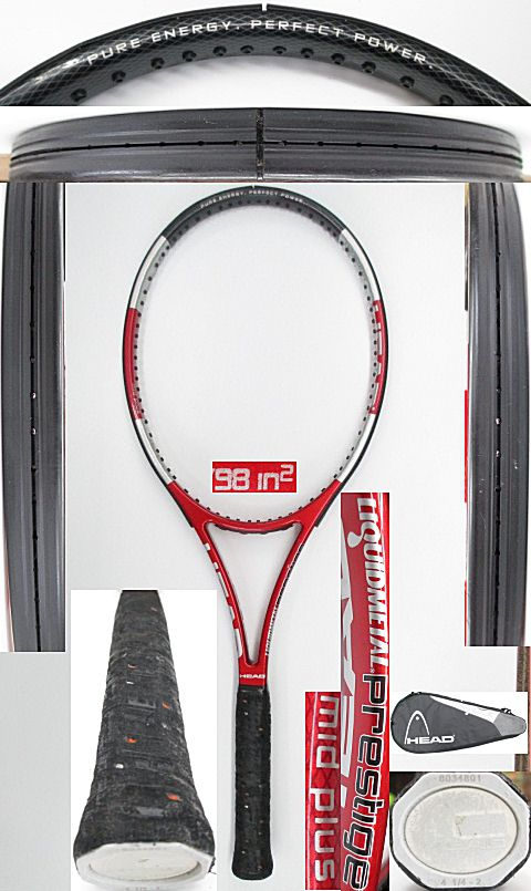 【中古 テニスラケット】H0492 ヘッド リキッドメタル プレステージMP