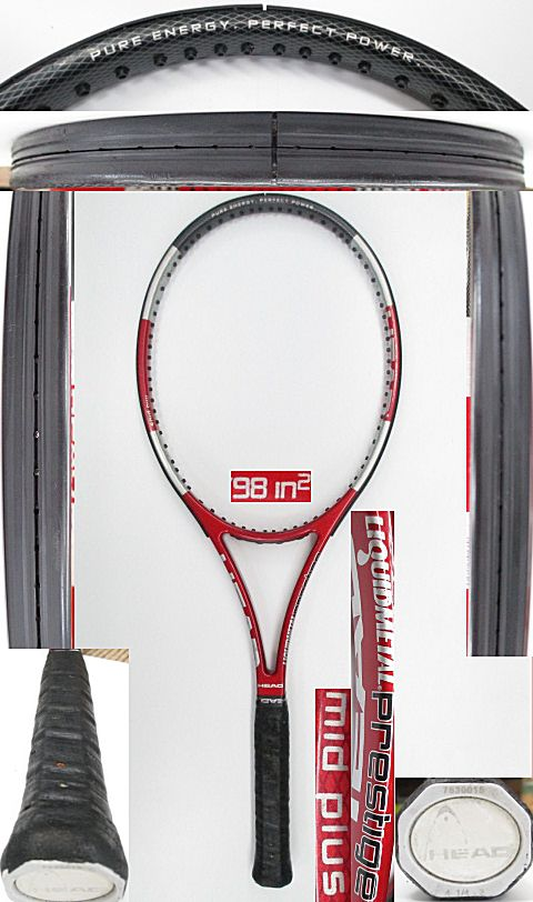 【中古 テニスラケット】H0493 ヘッド リキッドメタル プレステージMP