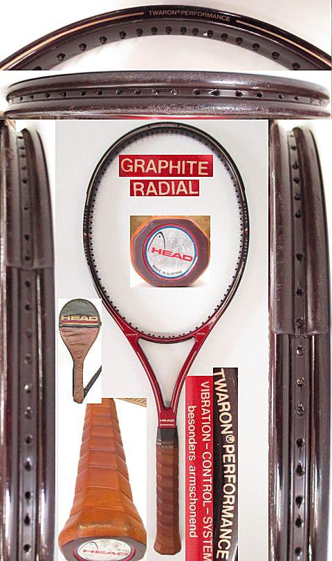 【中古 テニスラケット】H0495 ヘッド グラファイト ラジアル