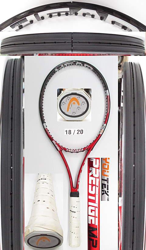【中古 テニスラケット】H0505 ヘッド ユーテック プレステージMP(18×20)